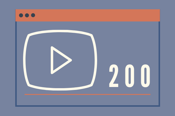 200 Views for YouTube
