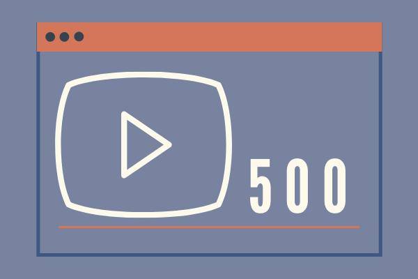 Real 500 YouTube Views