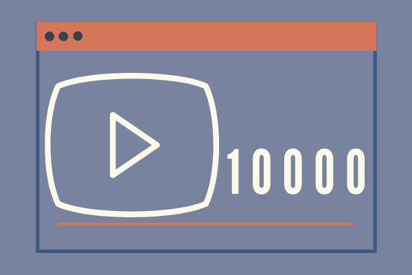 10k views on YouTube