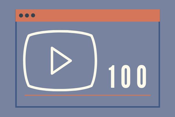 Real 100 YouTube Views