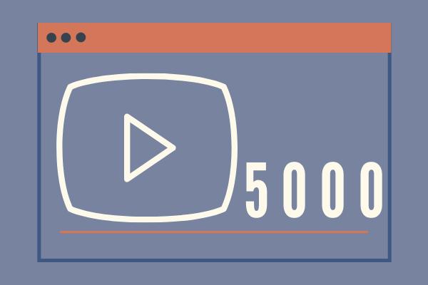 Real 5k YouTube Views